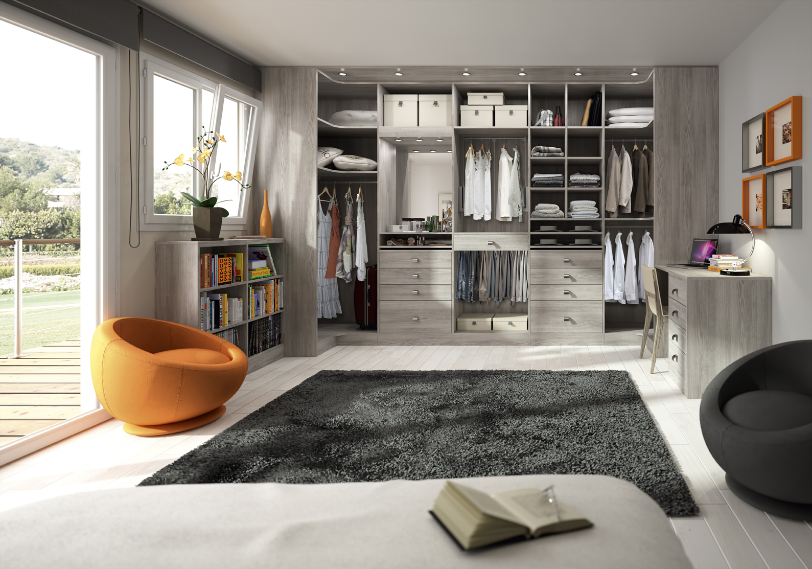 dressing vitr am nagement conception pose lionel fouassier. Black Bedroom Furniture Sets. Home Design Ideas