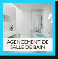 Agencement de salle de bain chez Lionel Fouassier